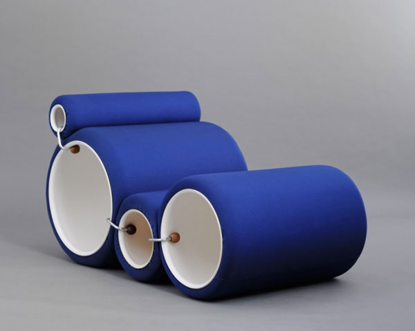 Joe Colombo - Tube chair