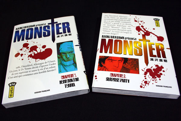 Monster - Tome 1 et 2