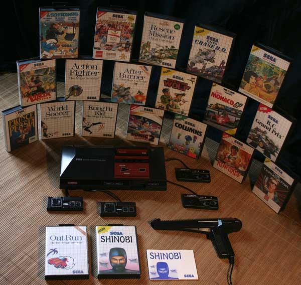 Ludothèque - SEGA Master System