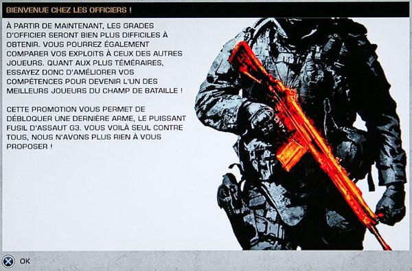 Battlefield Bad Company 2 - Bienvenue chez les officiers