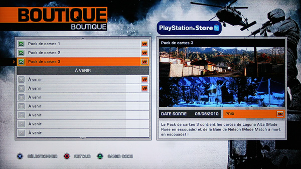 [DLC] Battlefield Bad Company 2 - La Boutique