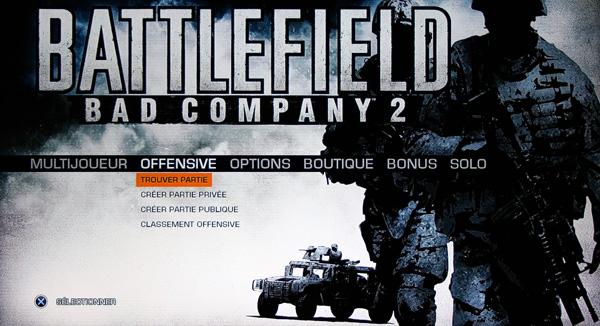 [DLC] Battlefield Bad Company 2 - Mode Onslaught