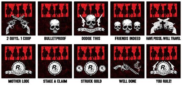 """Red Dead Redemption - Les nouveaux trophées du pack """"Outlaws to the End"""""""