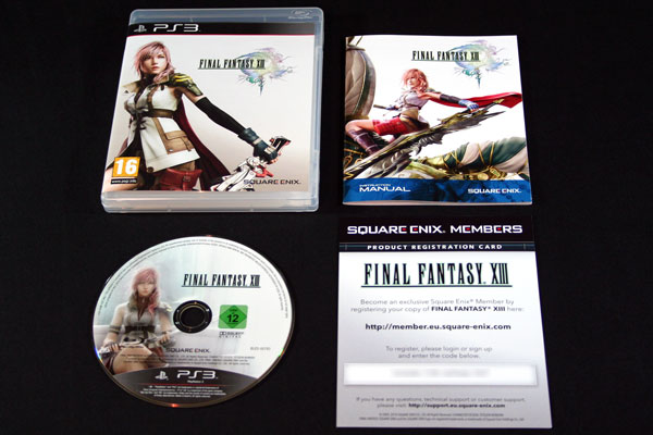 [Arrivage] Final Fantasy XIII
