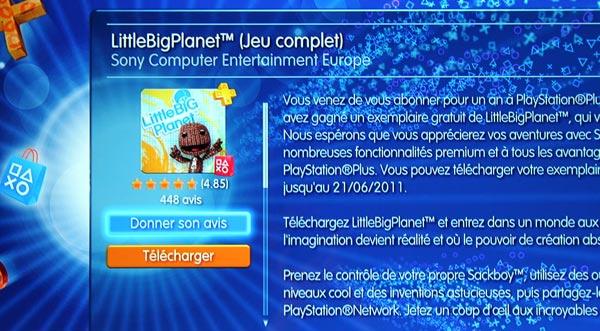 Playstation Store - Le système de notation