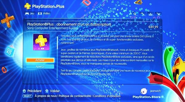 [PS+] Playstation Plus, c'est fait !