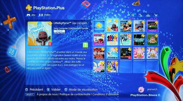 Le Playstation Plus en détails