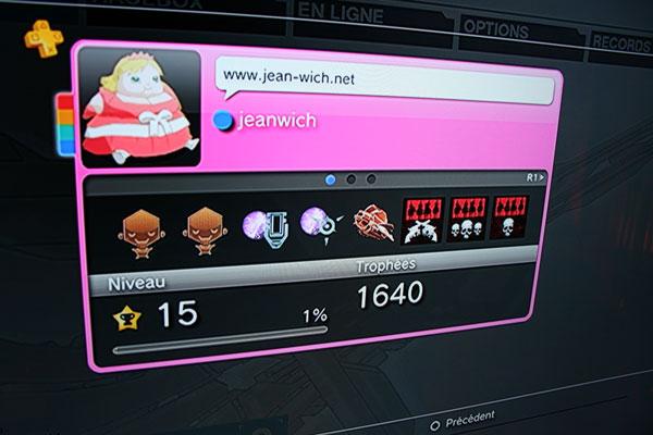 Playstation Plus - Nouvel avatar et niveau 15