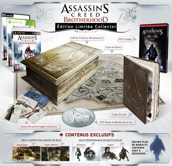 [Pré-commande] Assassin's Creed : Brotherhood - Édition limitée Codex
