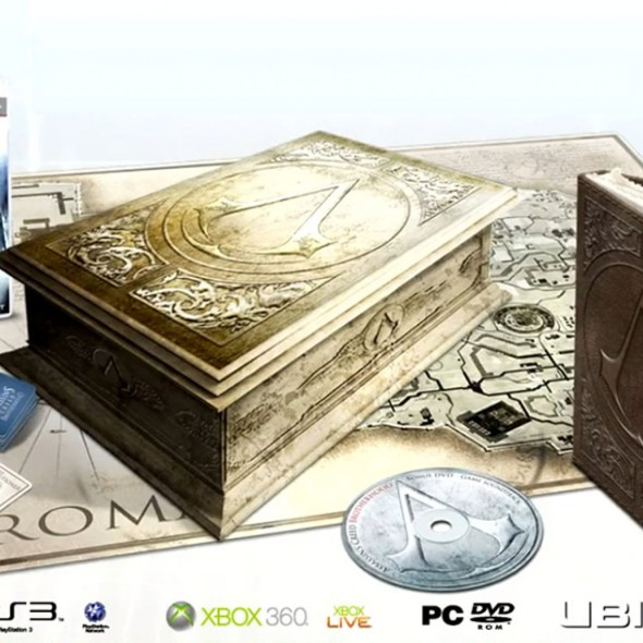 [Pré-commande] Assassin's Creed : Brotherhood - Édition limitée Codex