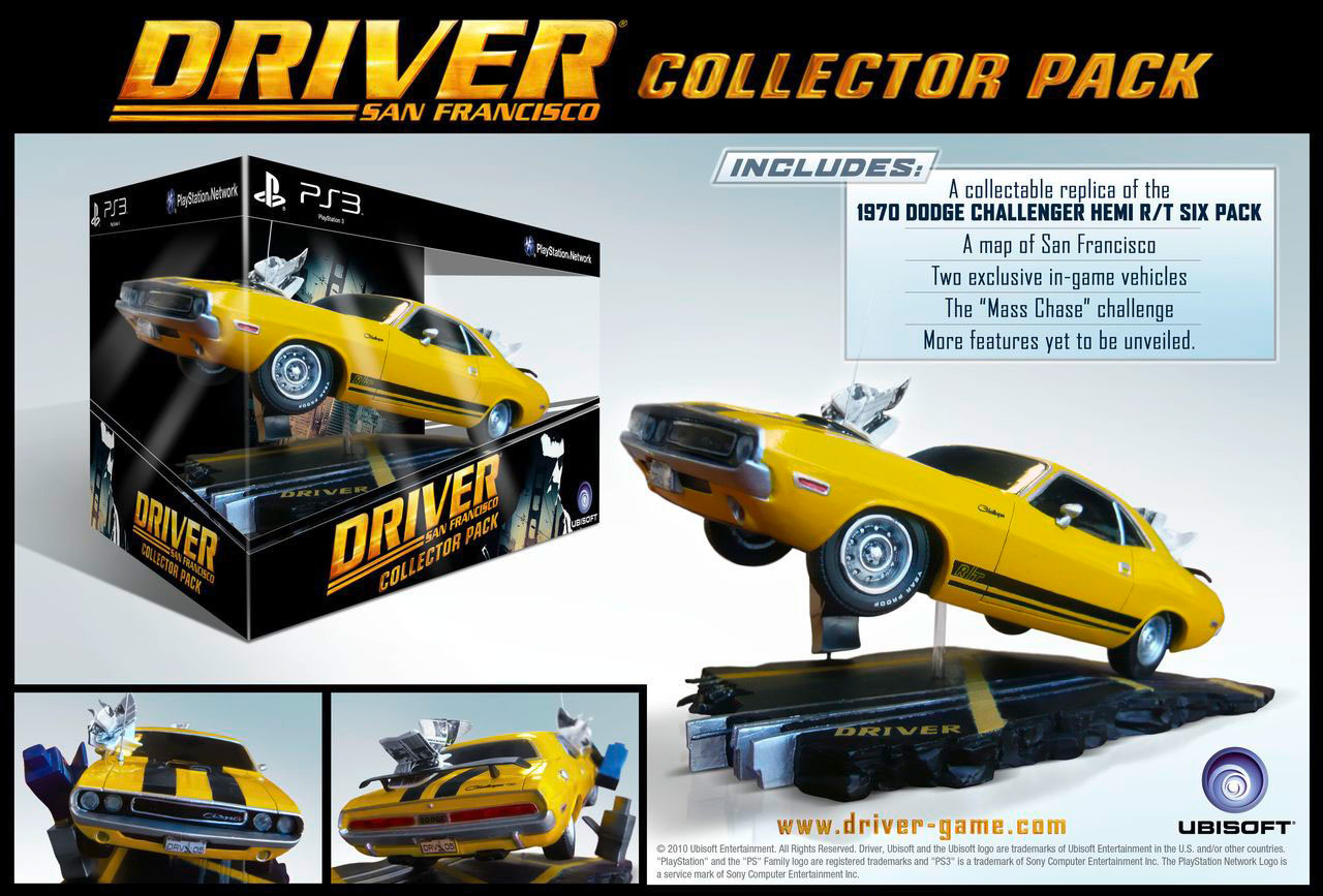 Driver San Francisco (Collector Pack)