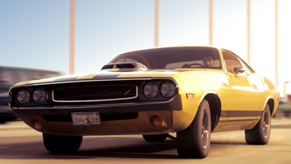Driver San Francisco (Dodge Challenger RT)
