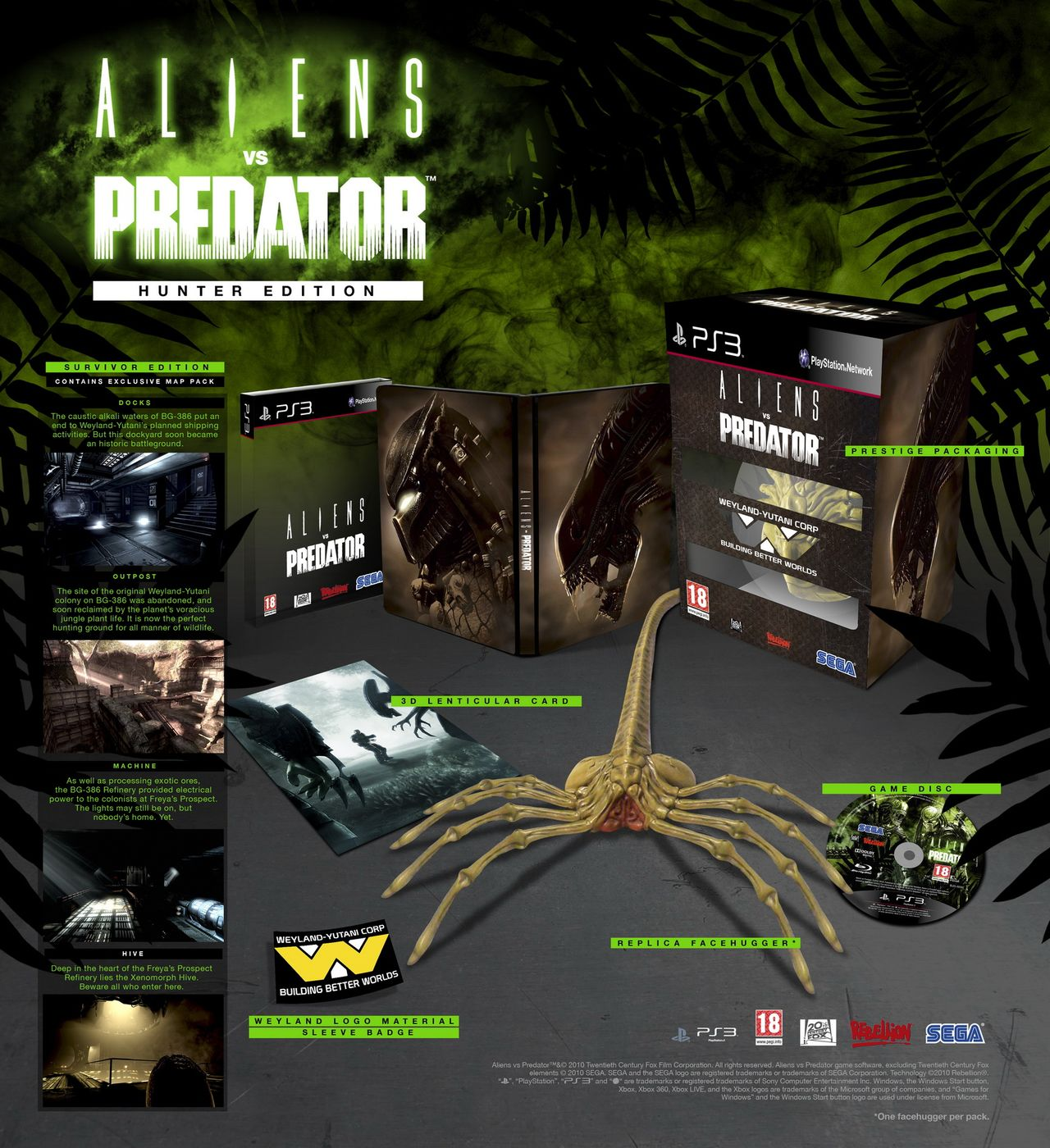 Aliens VS Predator - Hunter Edition