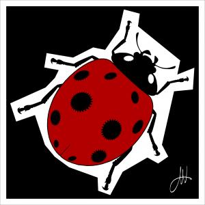 Gears-of-Art-Ladybug