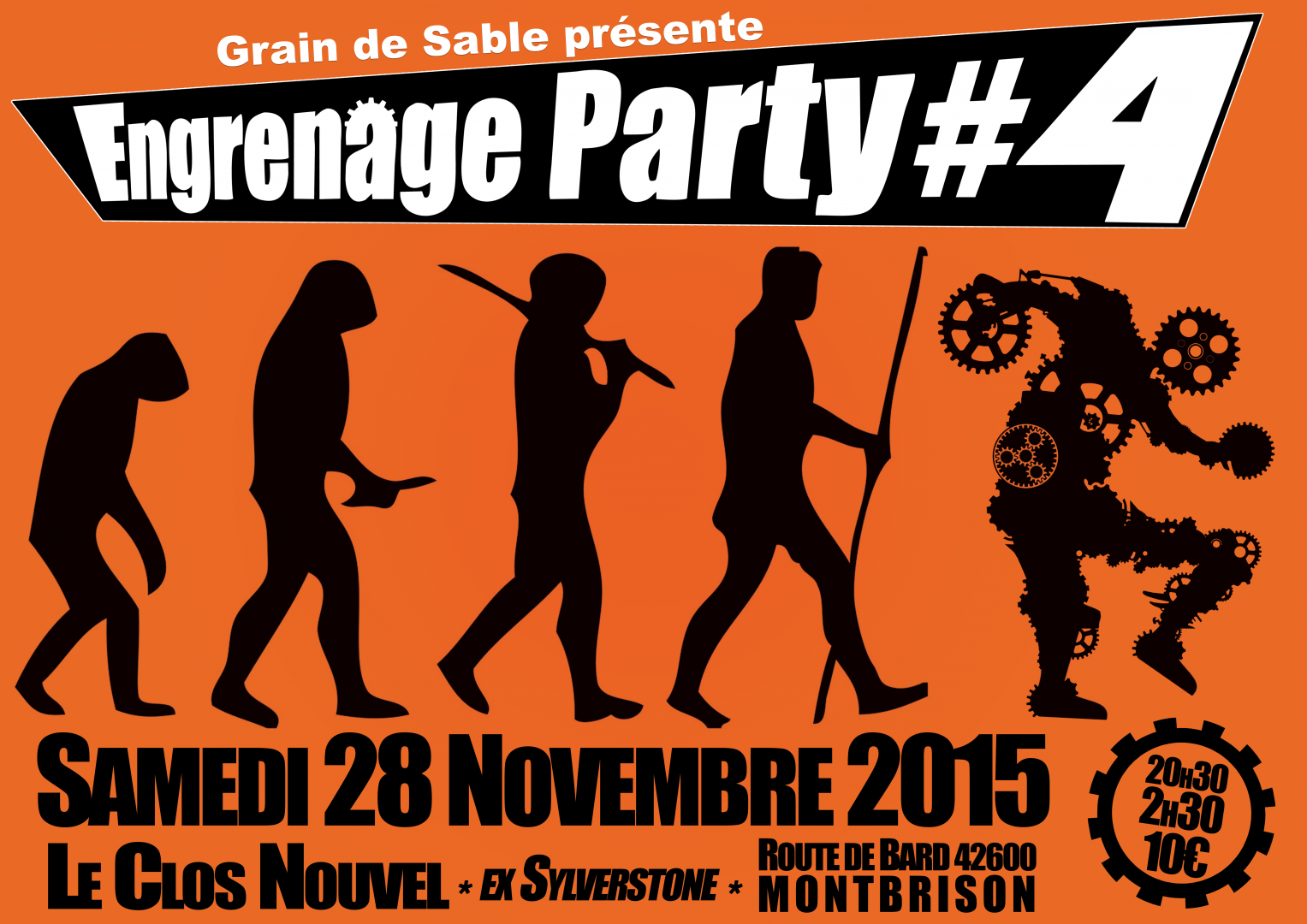 Engrenage Party, Grain de Sable